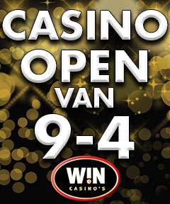 Openingstijden Casino Tilburg